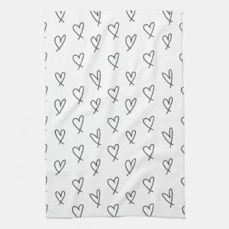 Crazy in love kitchen towel