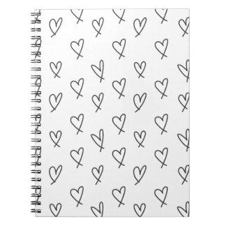 Crazy in love spiral note book
