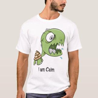 """Crazy Insane Turtle """"I am calm"""" Shirt"""
