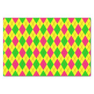 Crazy Kids Colors-Argyle 6-TISSUE WRAP PAPER