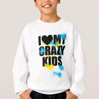 Crazy kids sweatshirt