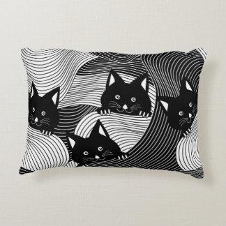 Crazy Kitties Accent Pillow