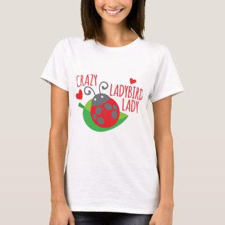 Crazy Ladybird Lady T-Shirt