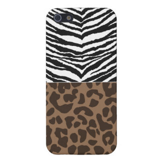 crazy leopard and zebra iphone case iPhone 5 cases