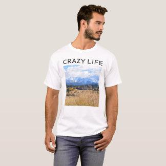 CRAZY LIFE mens t-shirt