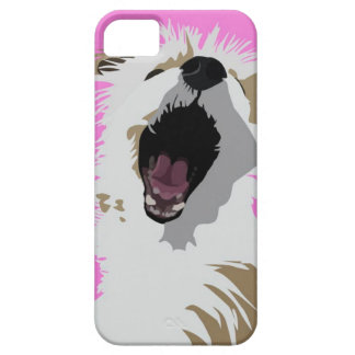 Crazy lioness dog! iPhone 5 cover