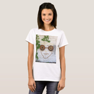 Crazy Loco Guy Wearing Goggles t-shirt by Yotigo