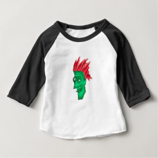 Crazy Man Drawing Baby T-Shirt