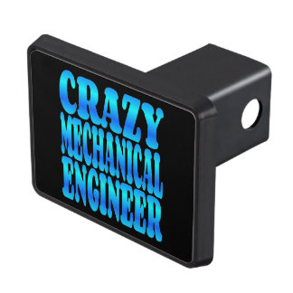 Crazy Mechanical Engineer Trailer Hitch Cover
