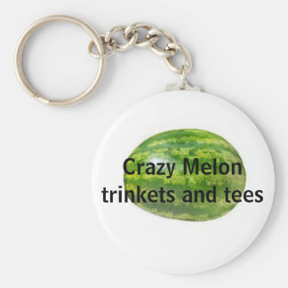 Crazy Melon trinkets and tees keychain