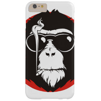 Crazy monkey design barely there iPhone 6 plus case