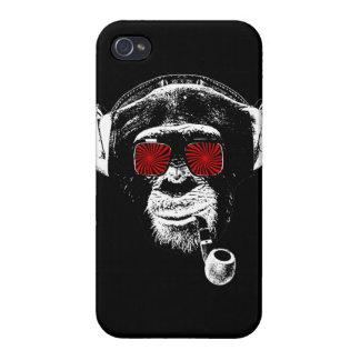 Crazy monkey iPhone 4/4S case
