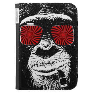 Crazy monkey kindle folio case