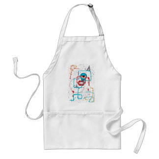 Crazy Monster Face Funny Standard Apron