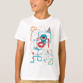 Crazy Monster Face Funny T-Shirt
