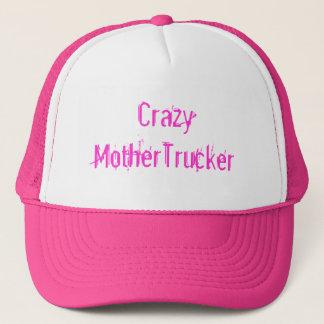 Crazy MotherTrucker Trucker Hat