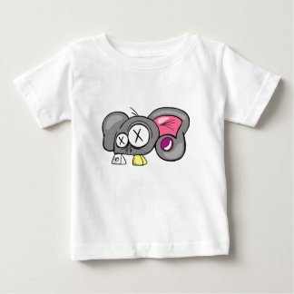 Crazy Mouse Head Design Baby T-Shirt