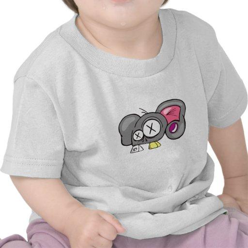 Crazy Mouse Head Design T-shirt