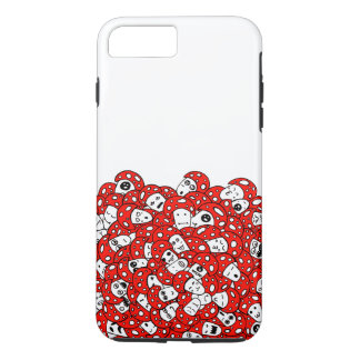 Crazy Mushrooms iPhone 7 Plus Case