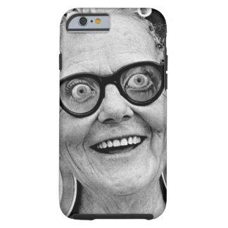 Crazy Old Lady Case Tough iPhone 6 Case