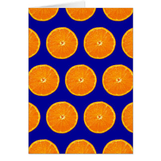 Crazy on Clementines - Blue Card
