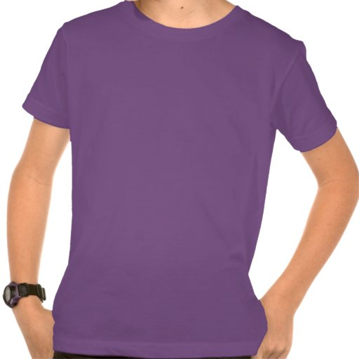 Crazy Optical Illusion - Flowery Green and Purple Tees