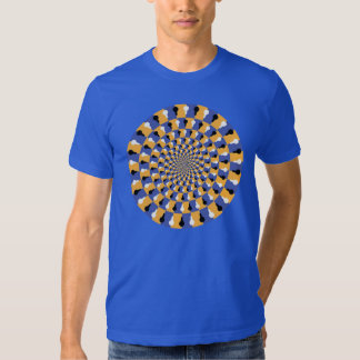 Crazy Optical Illusion - Holographic Circle Shirts
