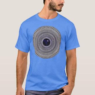 Crazy Optical Illusion - Holographic Circle T-Shirt