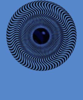 Crazy Optical Illusion - Holographic Circle Shirt