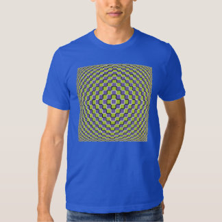 Crazy Optical Illusion - Holographic Circle Tshirt