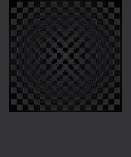 Crazy Optical Illusion - Morphing Metal Square Tshirts