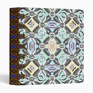 Crazy Pattern 3 Ring Binders
