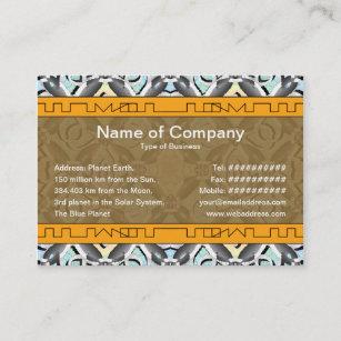 Crazy business cards profile cards zazzle ca crazy pattern business card colourmoves