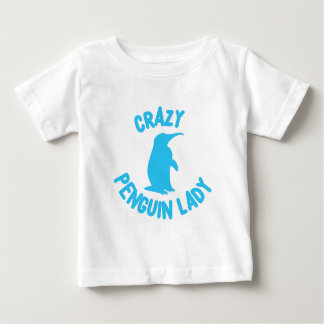 crazy penguin lady baby T-Shirt