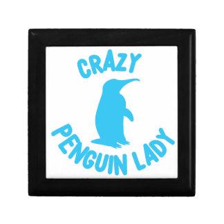 crazy penguin lady gift box