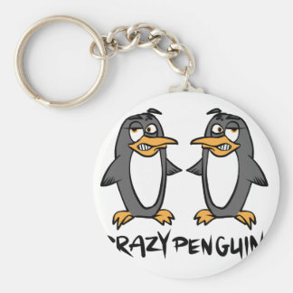 Crazy penguins keychain