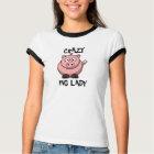 Crazy Pig Lady T-shirt