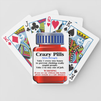 Crazy Pills_ Bicycle Playing Cards