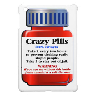 Crazy Pills_ Cover For The iPad Mini
