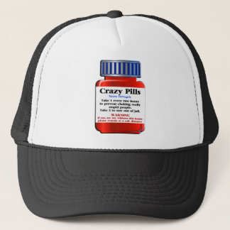 Crazy Pills_ Trucker Hat