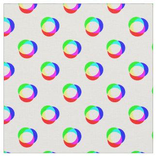 Crazy Polka Dots Custom Background Fabric