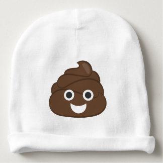 Crazy Poop Emoji Baby Beanie