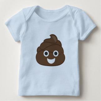 Crazy Poop Emoji Baby T-Shirt
