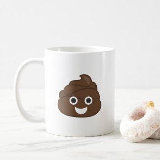 Crazy Poop Emoji Coffee Mug