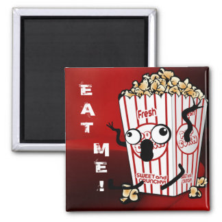 Crazy Popcorn! Magnet
