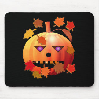 Crazy Pumpkin Mouse Pad