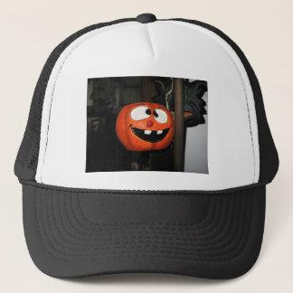 Crazy Pumpkin Trucker Hat
