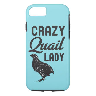 Crazy Quail Lady Phone Cover