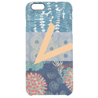 Crazy quilt clear iPhone 6 plus case