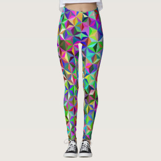 Crazy Quilt Leggings